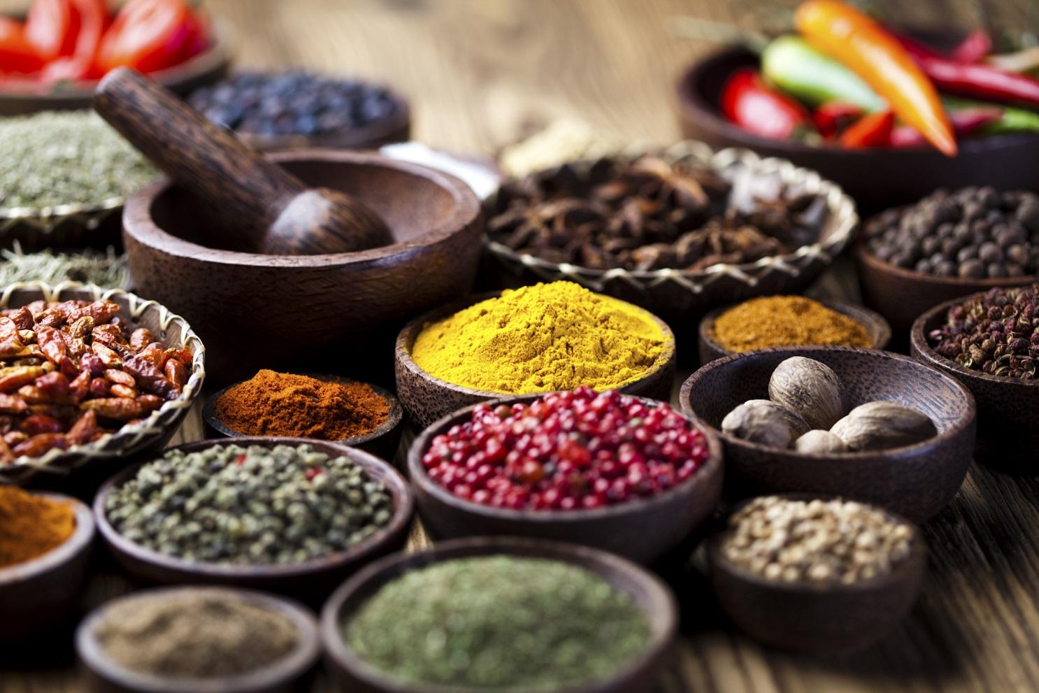 Come usare le spezie in cucina ayurveda in toscana - Le spezie in cucina ...